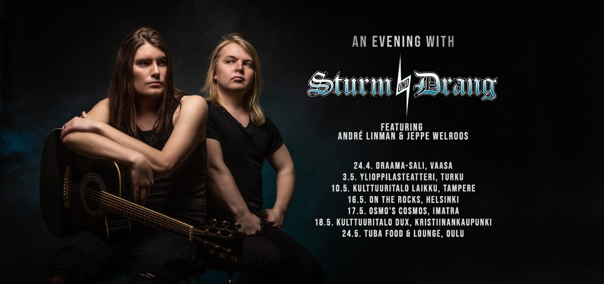 BCR Kulttuuri: AN EVENING WITH STURM UND DRANG - featuring André Linman & Jeppe Welroos